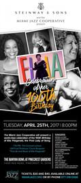 SFJO Ella 100th Poster