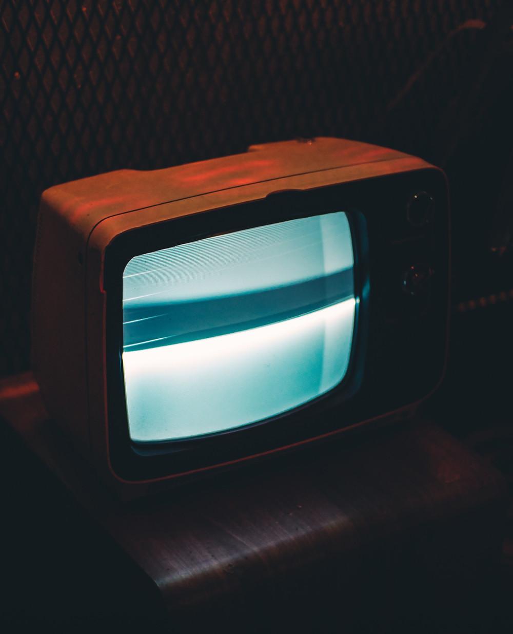 Télévision vintage.