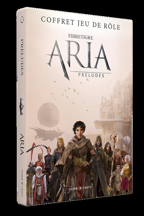 ARIA : Préludes - Coffret Jeu de rôle