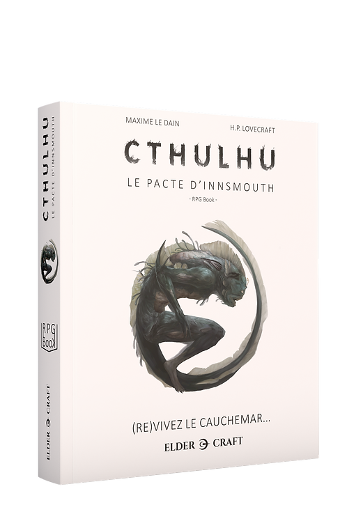 CTHULHU : Grand Format - Le Pacte d'Innsmouth