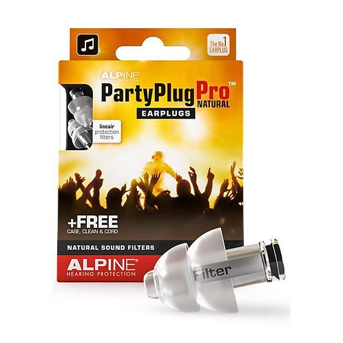 ALPINE PARTY PLUG PRO NATURAL EARPLUGS