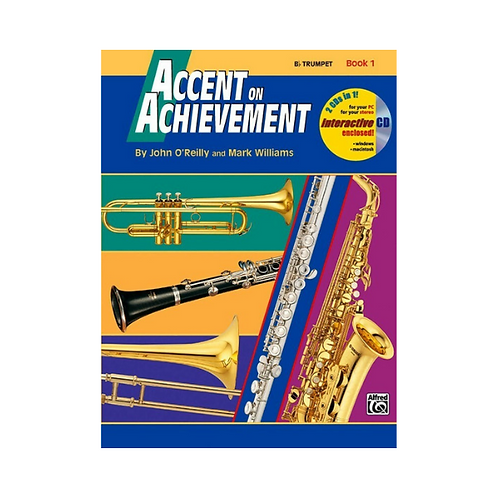 Accent on Achievement Trumpet Book 1