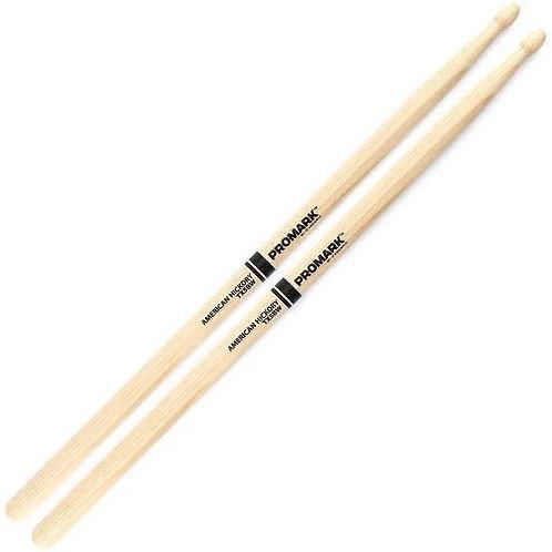 Promark 5B Hickory Wood Tip Drumsticks