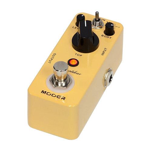 Mooer Acoustikar Acoustic Guitar Simulator Micro Guitar Effects Pedal