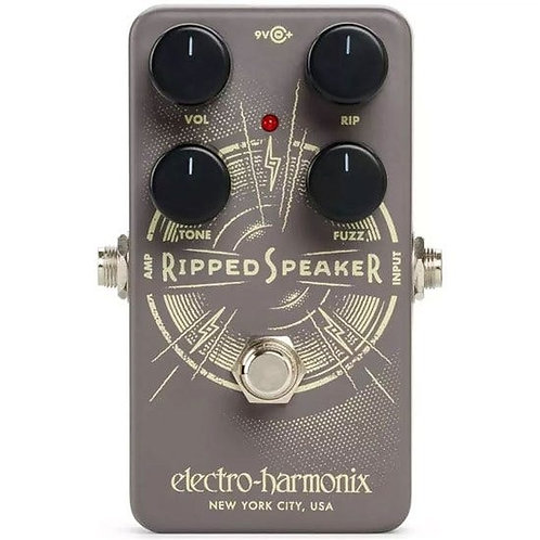 Electro Harmonix Ripped Speaker Fuzz Pedal