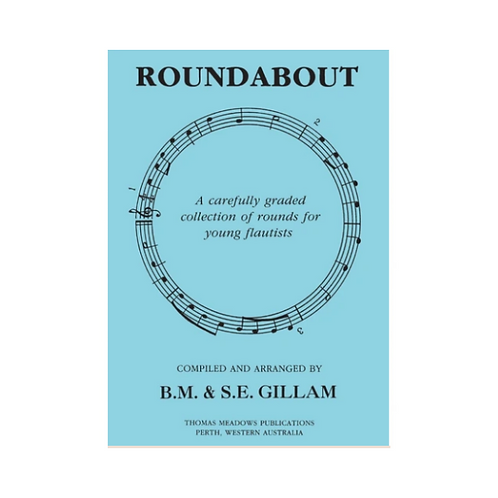 ROUNDABOUT FOR FLUTE BY BRUCE GILLAM