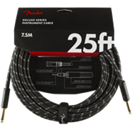 Fender Deluxe Series Instrument Cable, Straight/Straight 25'