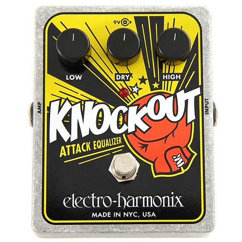ELECTRO HARMONIX KNOCKOUT ATTACK EQ PEDAL
