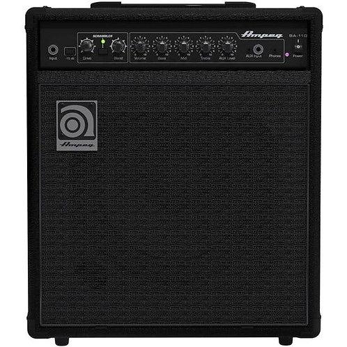 """Ampeg BA-110 V2 Bass Amplifier Combo 1x10"""" Ampeg Custom10 Speaker (40 Watts)"""