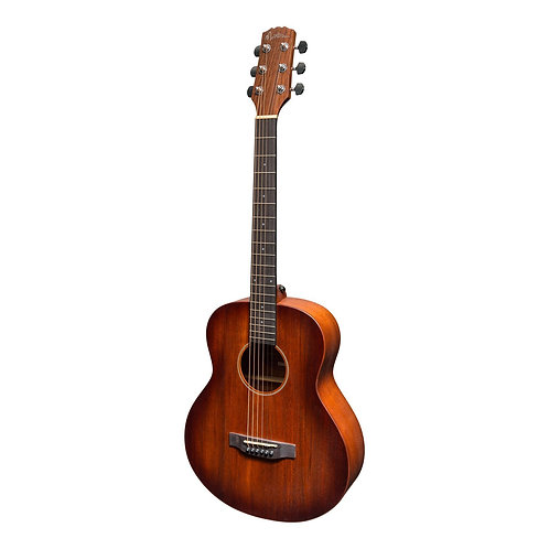Martinez 'Southern Star' Mahogany Acoustic-Electric TS-Mini Guitar