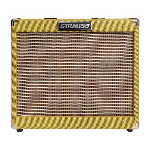 Strauss SVT-20R 20 Watt Combo Valve Amplifier with Reverb (Tweed)