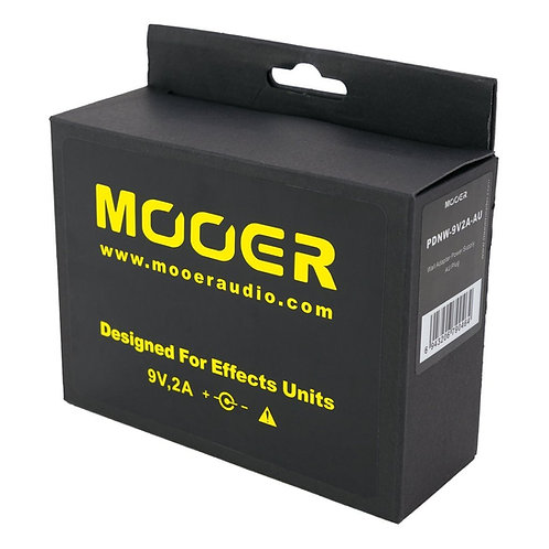 Mooer 9V DC 2A Effects Pedal Power Supply - MEP-9V2A