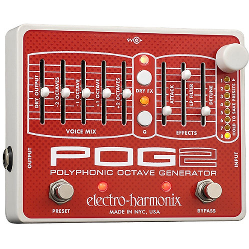 ELECTRO HARMONIX POLYPHONIC OCTAVE GENERATOR 2 (POG2)