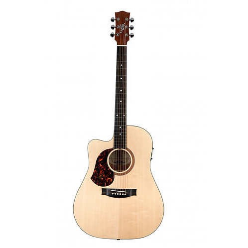 Maton SRS70C-LH Acoustic Electric Guitar W/Case - Natural - Left Handed