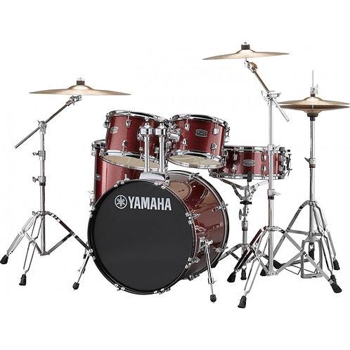 Yamaha Rydeen 5pc Fusion Drum Kit - Burgundy Glitter W/FREE DS550 STOOL!