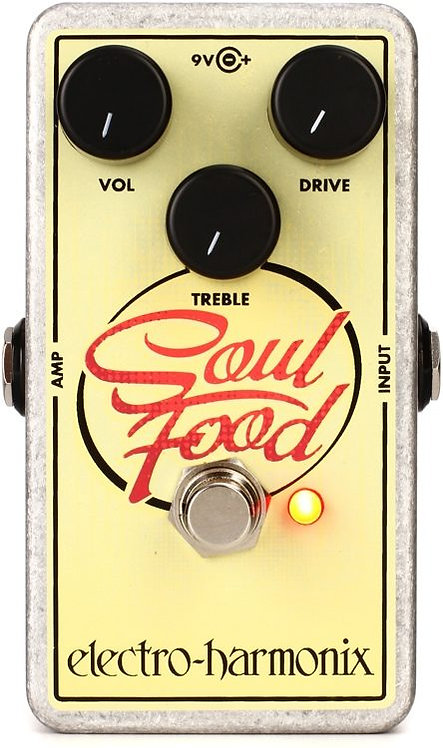 ELECTRO HARMONIX SOUL FOOD PEDAL (DISTORTION/OVERDRIVE/FUZZ)