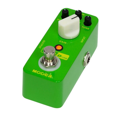Mooer Rumble Drive Overdrive Micro Guitar Effects Pedal