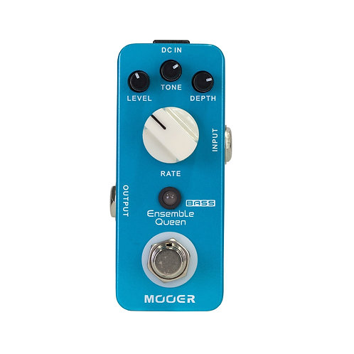 MOOER ENSEMBLE QUEEN Micro Bass Effects Pedal