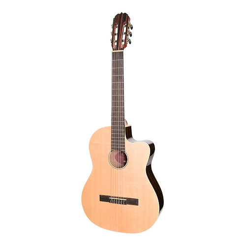 Martinez 'Southern Star Series' Spruce Solid Top Classical w/ Pickup & Cutaway