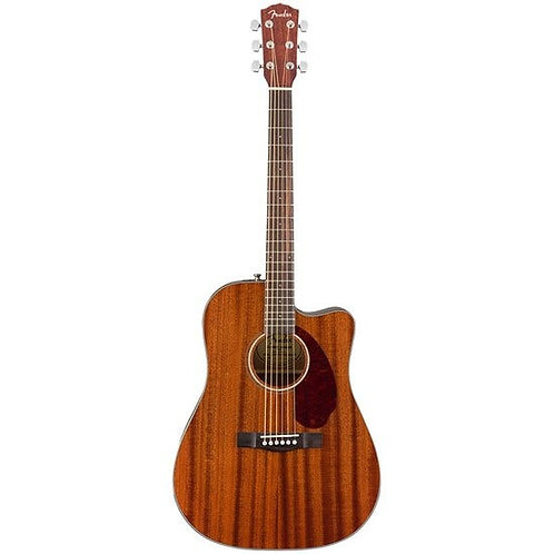 FENDER CD-140SCE ELECTRIC ACOUSTIC GUITAR MAHOGANY + HARD CASE