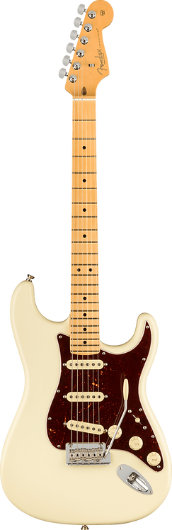 Fender American Professional II Stratocaster Maple Fingerboard Olympic White