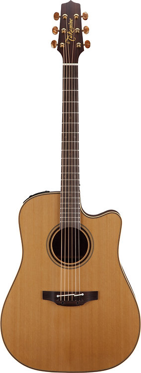 Takamine Pro Series 3 Dreadnought AC/EL Guitar - Natural Satin