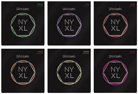D'Addario NYXL Electric Guitar String Set