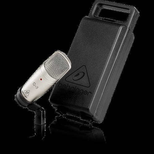 Behringer C3 Studio Condenser Microphone (C-3)