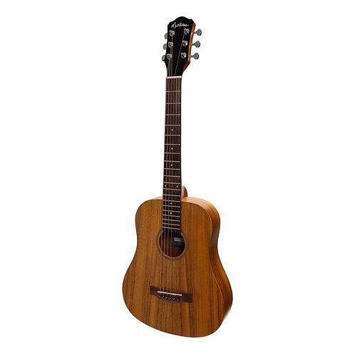 Martinez Acoustic 'Babe' Traveller Guitar With Pickup, EQ & Tuner (MZPT-BT2)
