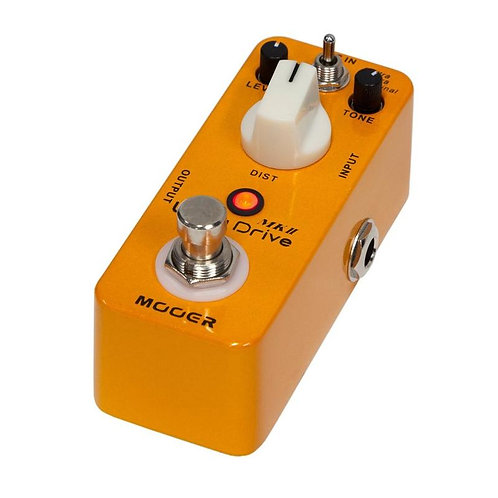 Mooer Ultra Drive MKII Distortion Micro Guitar Effects Pedal