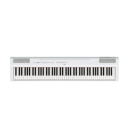 YAMAHA P125W DIGITAL PIANO