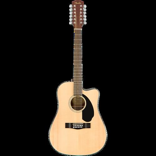 Fender CD-60SCE 12-String Acoustic Electric Guitar - Natural
