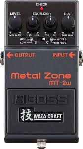 Boss Metal Zone MT-2W Waza Craft