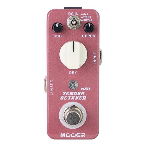 MOOER Tender Octaver Micro MK ii guitar effects pedal