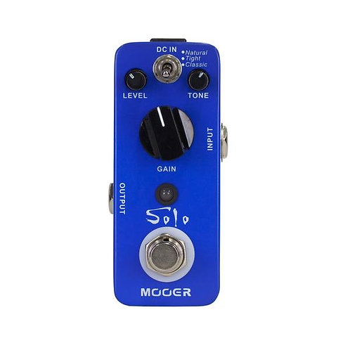 Mooer Solo Distortion Micro Guitar Effects Pedal