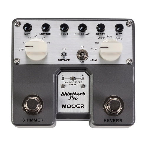 MOOER Shimverb Pro Twin series Effect pedal
