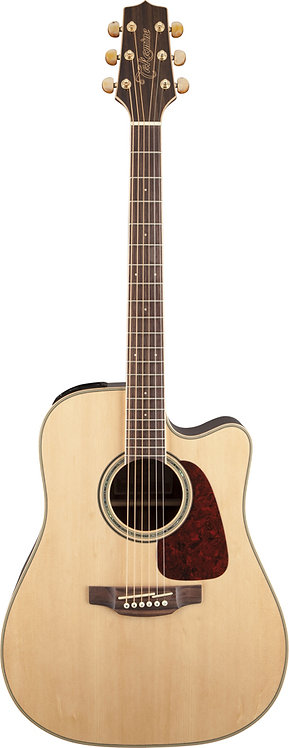 Takamine G70 Series Dreadnought AC/EL Guitar with Cutaway - Natural Gloss