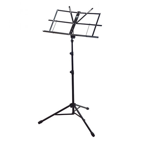 Armour Foldable Music Stand With Bag - Black (MS3129)