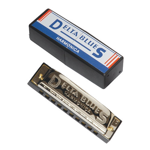Delta Blues 10 Hole Diatonic Harmonica (Key of C)