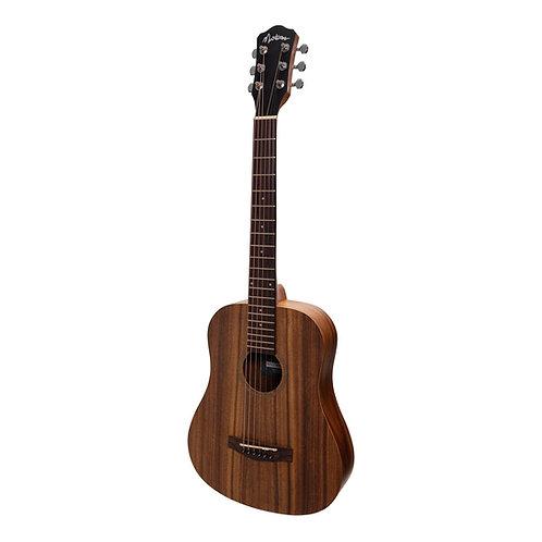 Martinez Acoustic 'Babe' Traveller Guitar (MZ-BT2-ASTN)