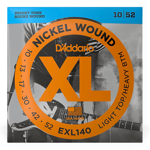 D'ADDARIO EXL140 ELECTRIC GUITAR STRINGS (10 - 52)
