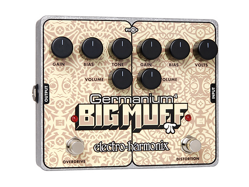 ELECTRO HARMONIX GERMANIUM BIG MUFF PI DISTORTION/OVERDRIVE PEDAL