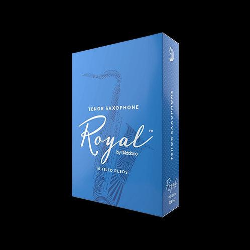 RICO ROYAL BY D'ADDARIO TENOR SAXOPHONE REEDS (BOX OF 10)