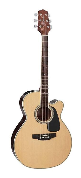Takamine D3 Series NEX AC/EL Guitar Cutaway Natural TED3NCNAT