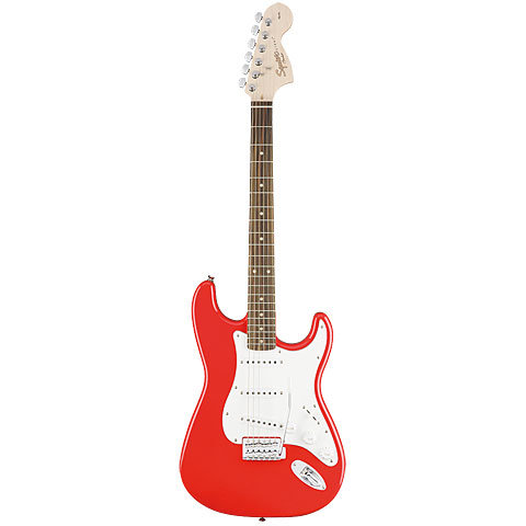SQUIER AFFINITY STRATOCASTER ELECTRIC GUITAR LRL RACE RED