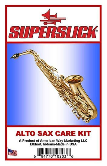 Superslick Alto Sax Care Kit