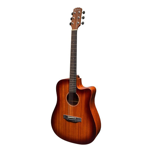 Martinez 'Southern Star' Mahogany Acoustic-Electric Dreadnought