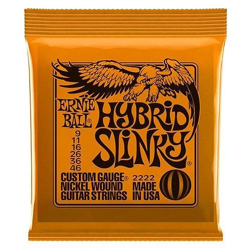 Ernie Ball Hybrid Slinky Nickel Wound Electric Guitar Strings - (9-46)