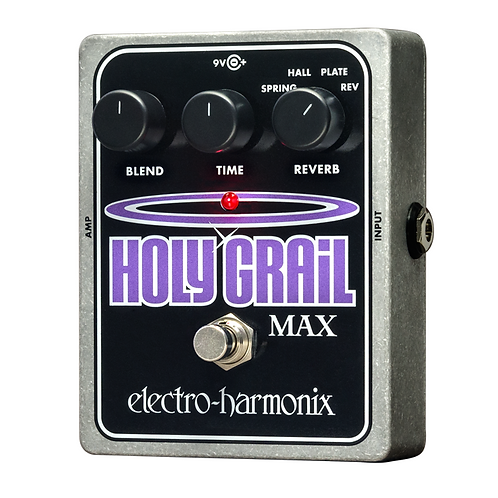 ELECTRO HARMONIX HOLY GRAIL MAX EFFECTS PEDAL (REVERB)