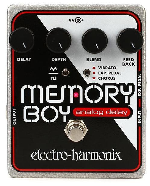 ELECTRO HARMONIX MEMORY BOY ANALOG DELAY WITH CHORUS/VIBRATO